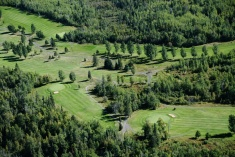Hoyt Lakes Golf Course Arial